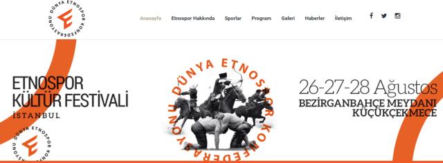 Etnospor Kültür Festivali – 26 27 28 Ağustos 2016