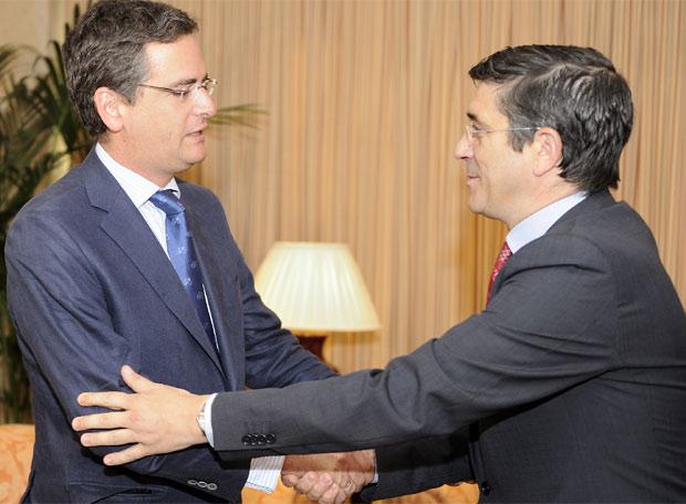 El símbolo de la acumulación de fuerzas españolistas que gobierna Euskadi