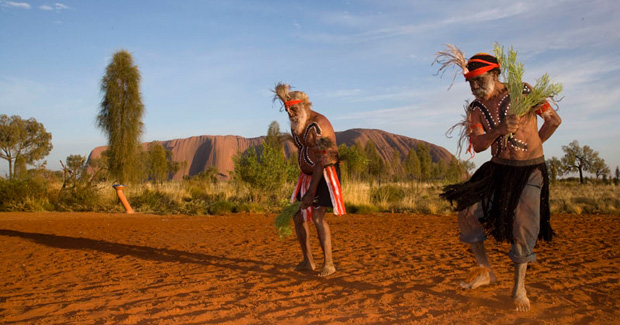 Uluru Aboriginals