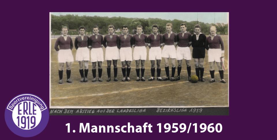 1 Mannschaft 1959/1960
