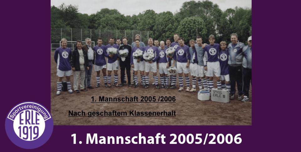 1 Mannschaft 2005/2006