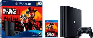 Sony PlayStation 4 Pro 1TB with Red Dead Redemption 2