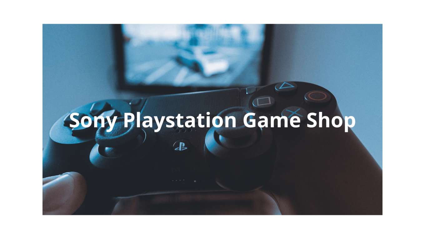 Sony Playstation Game Shop