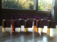 Gorgeous colourful natural perfume