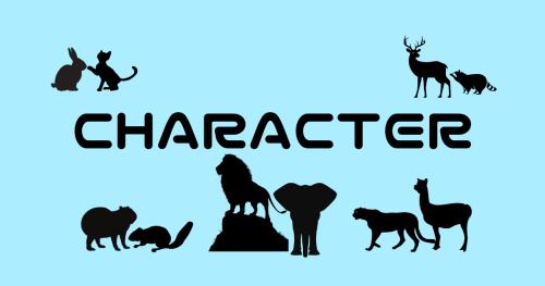 派生キャラクター(動物)イメージ画像
