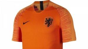 Het nieuwe shirt van Oranje. Foto: knvb.nl