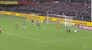 PSV had de tweede bal niet, zoals hier. Beeld: Fox