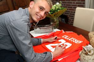 Jasper Cillessen heeft al getekend. Foto: Wikimedia CC/Rob Koppers