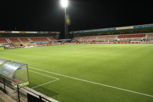 De indrukwekkende voetbaltempel van Helmond Sport: Foto: helmondsport.nl