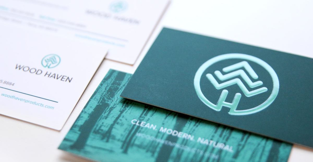 Wood Haven business cards