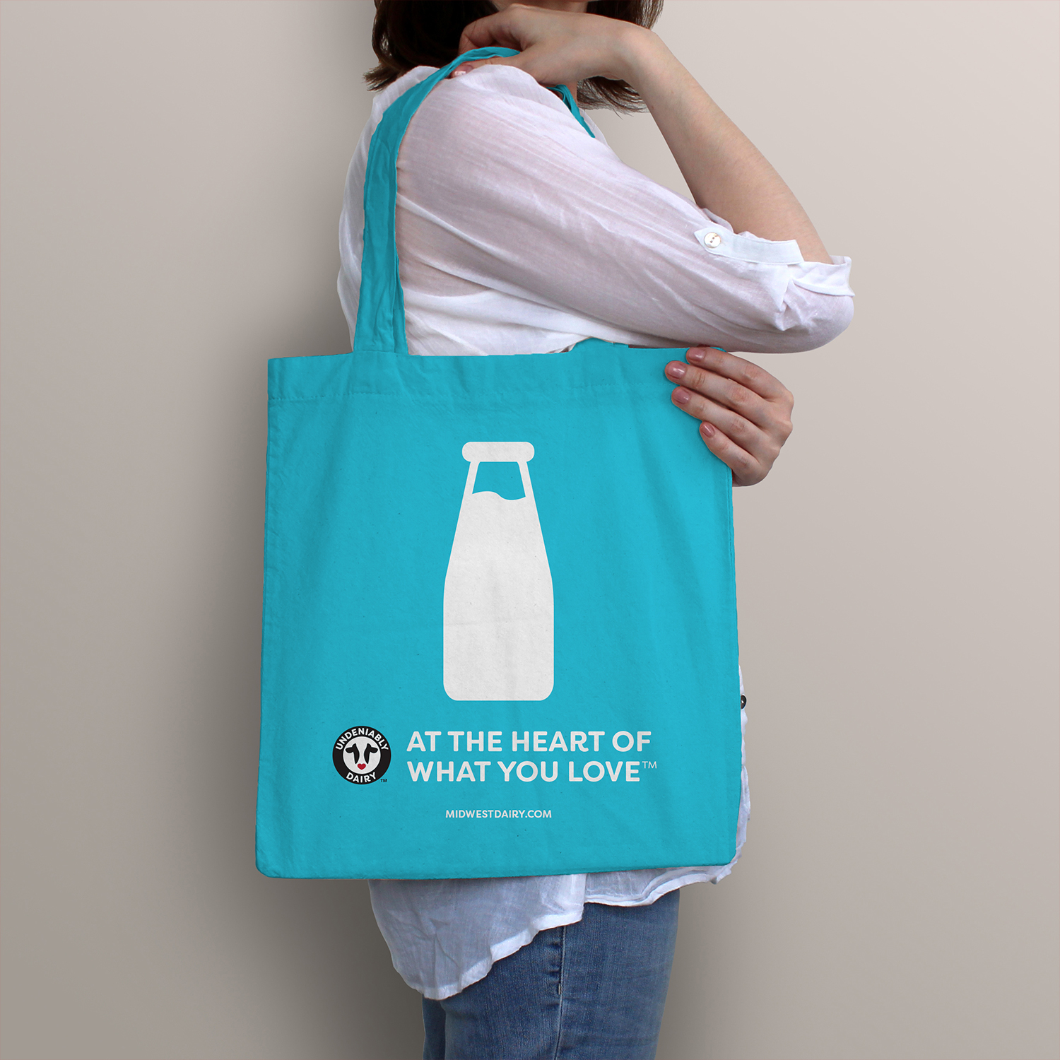 Lady with Tote