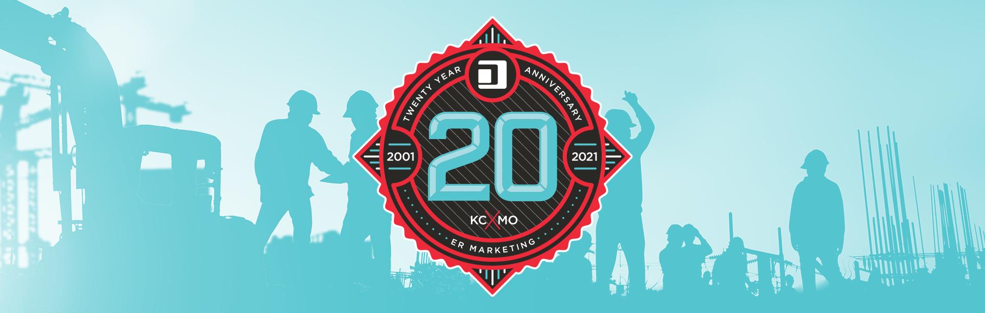 ERM 20th anniversary Logo