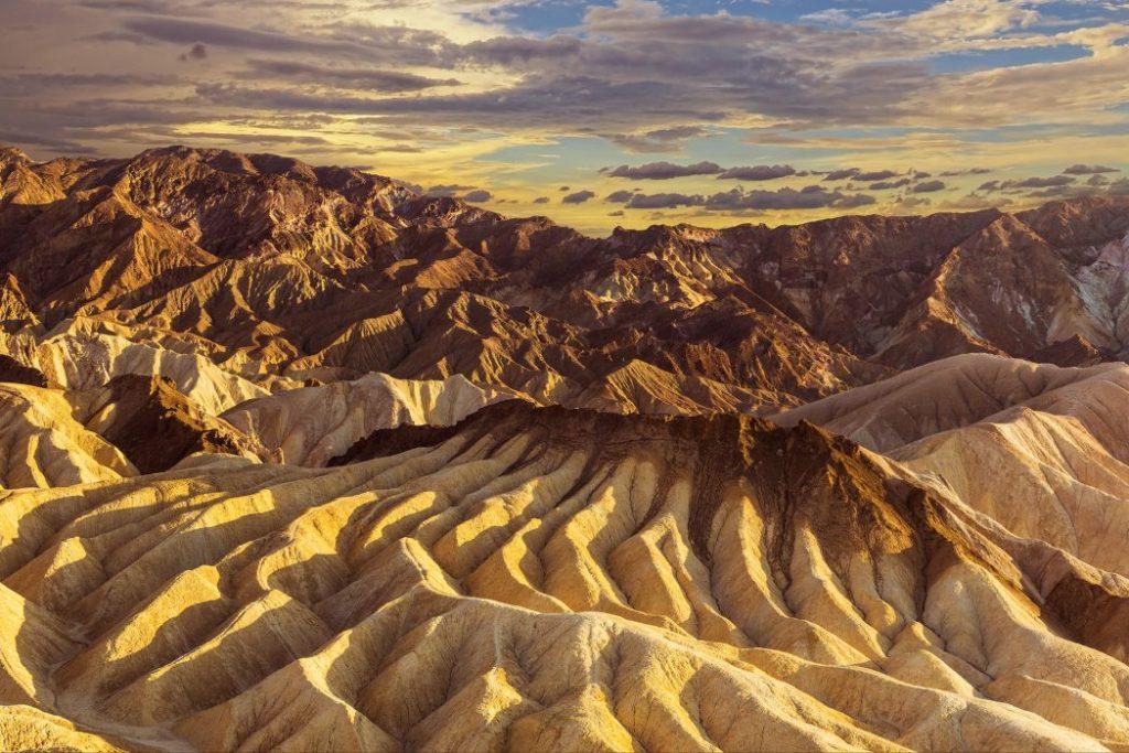Zabrinskie point (Death Valley, California)