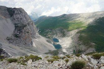 I Laghi di Pilato: veduta da Cima Lago