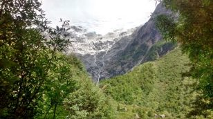 Verso il ghiacciaio del Bosque Encantado