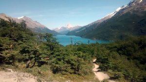Trail verso il Lago Desierto