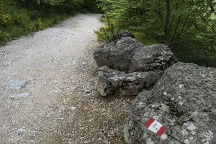 Inizio sentiero