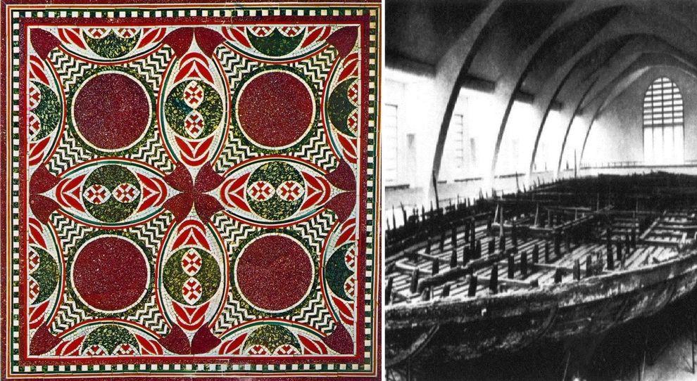 Mosaico della nave di Caligola
