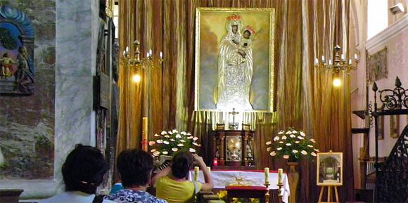 Gnadenbild in Stoczek Klasztorny