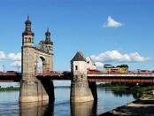 Die Luisenbrücke-Grenze zwischen Litauen und dem Kaliningrader Gebiet in Sowjetsk/Tilsit,, Foto: Kusurija, CC-BY-SA-3.0