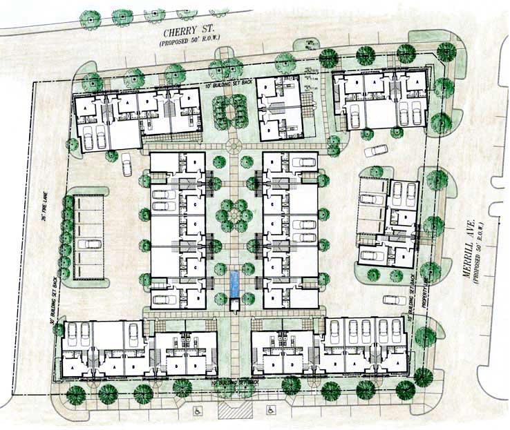 Urban Townhouse Layout