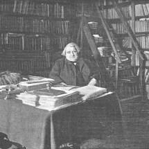Ernest Renan dans son bureau - Photographie de Dornac