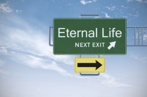 eternal life roadsign