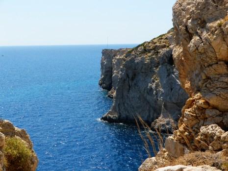 Carian Coast cliffs