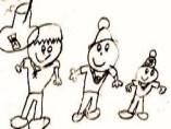 Marcel Fashen es la primera que ilustra los personajes de Pepito, Pelota y Pelotilla
