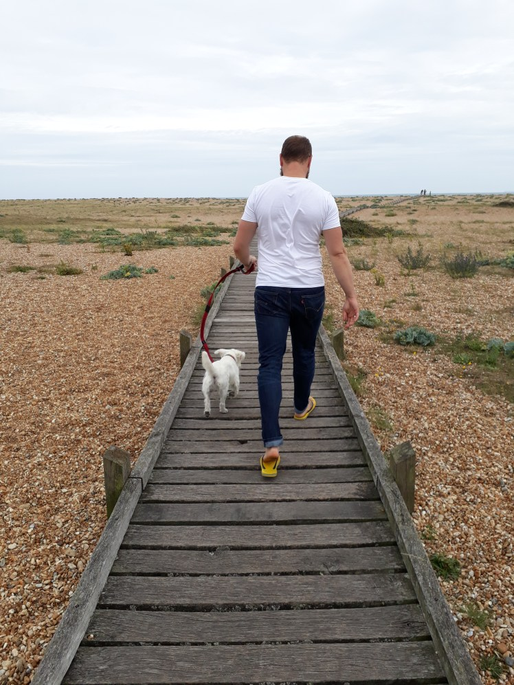 Ernie and Nick at Dungeness