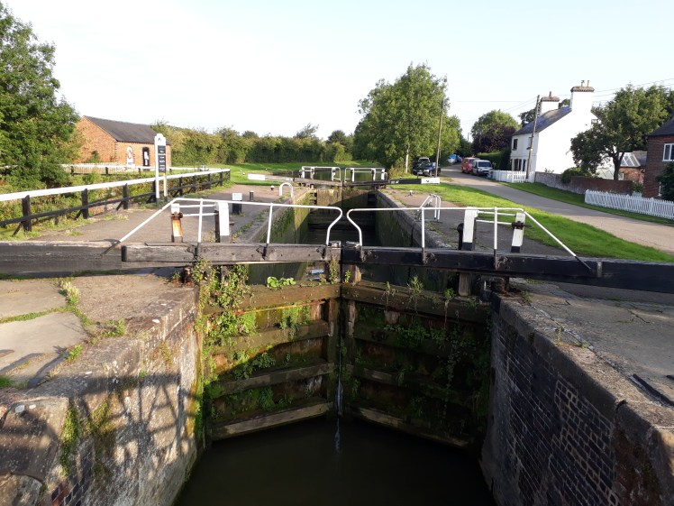 A lock on the Grand Union Canal