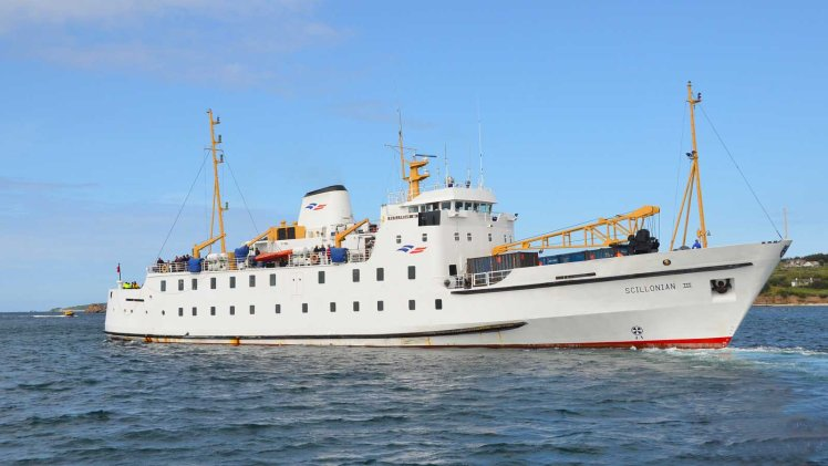 The Scillonian III