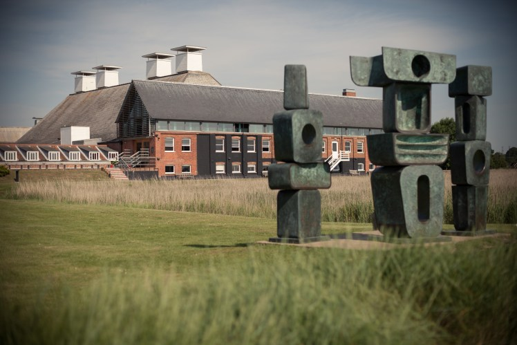 Sculpture at Snape Maltings, Suffolk