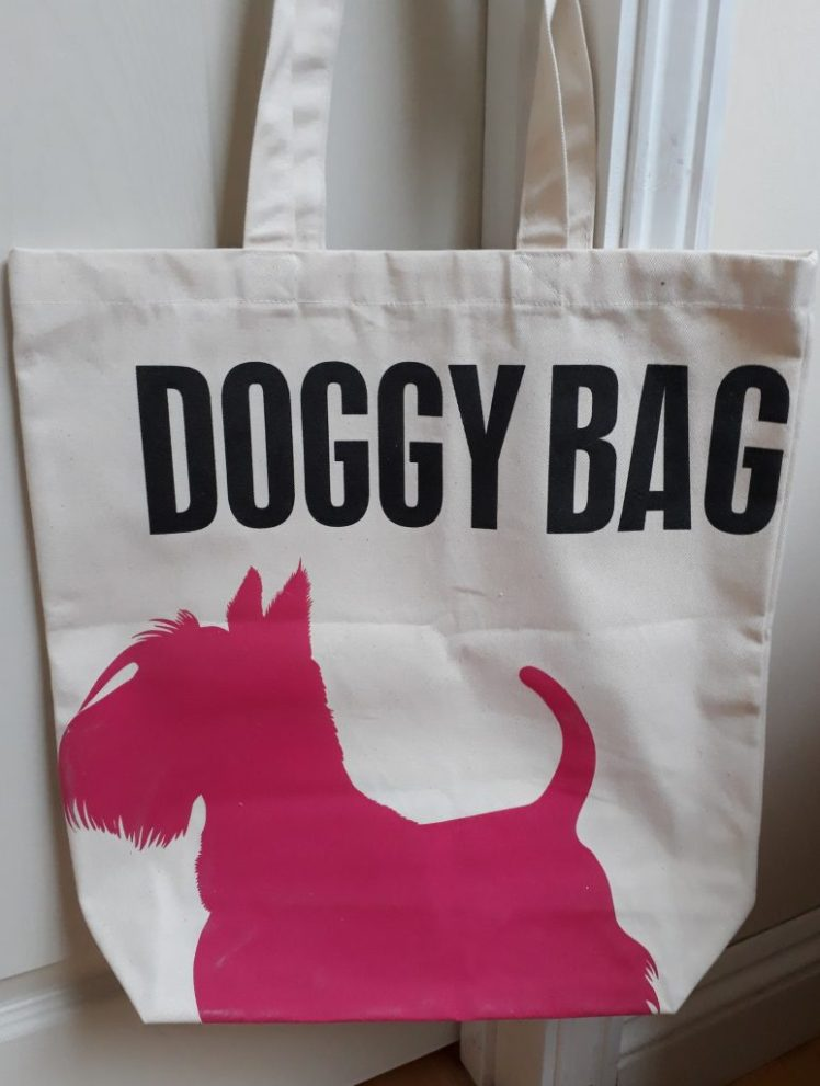 Canvas Doggy Bag from Fifi + Pascale