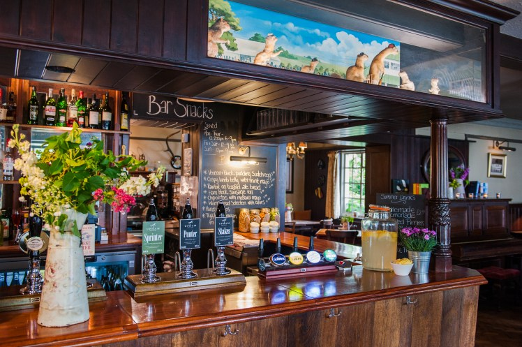 Bar at the Thomas Lord, West Meon