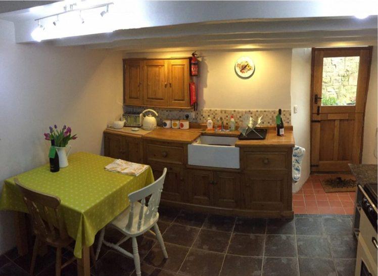 Kitchen at Birch Cottage, Warslow