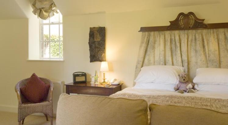 Bedroom at Trigony House