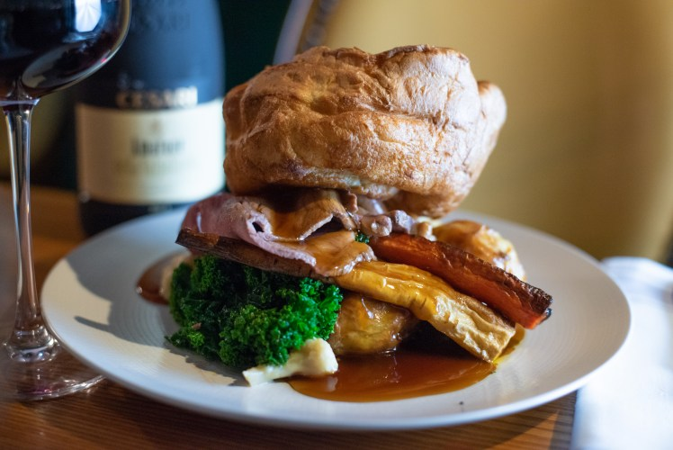 Sunday roast at the Cromwell Arms, Romsey