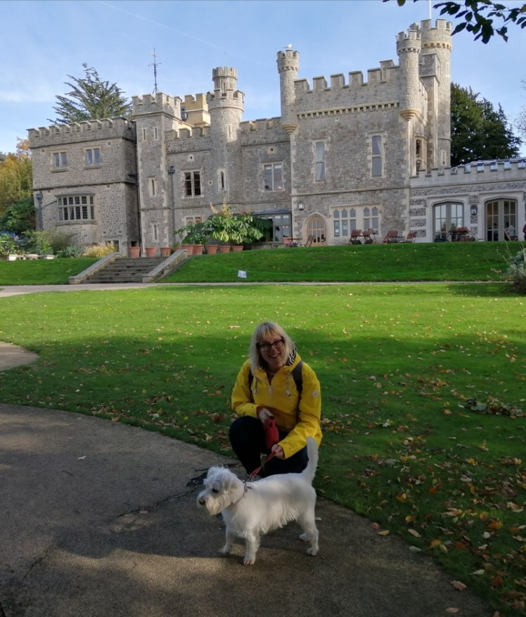 Ernie and I at Whitstable Castle
