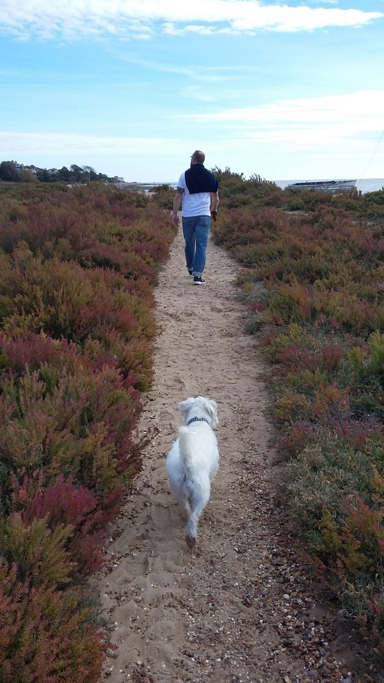 Ernie and Nick explore Mersea Island