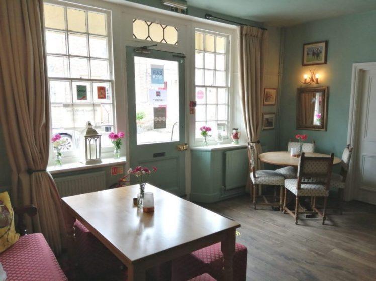 Bar area at the Fat Fox Inn, Watlington