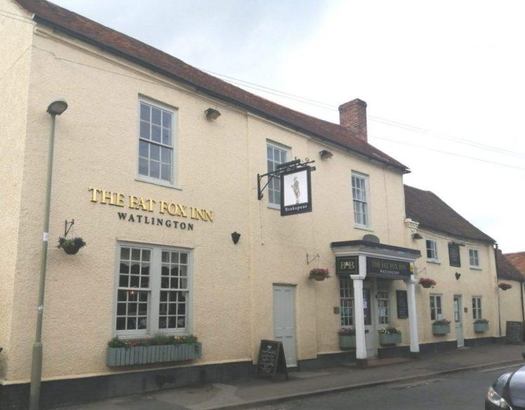 Exterior of the Fat Fox Inn, Watlington