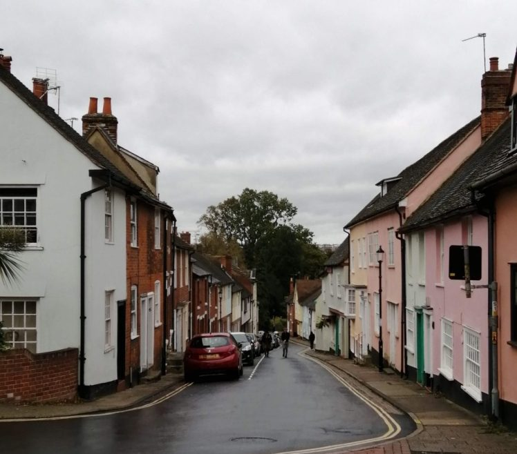 Colourful period properties in Colchester