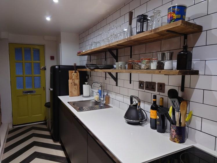 Kitchen at Seaside HQ, Brighton