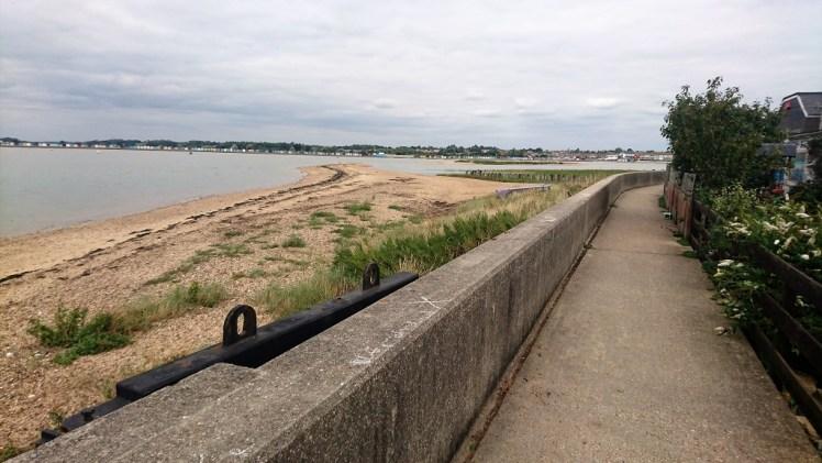 Coastal walk from Clacton to Brightlingsea