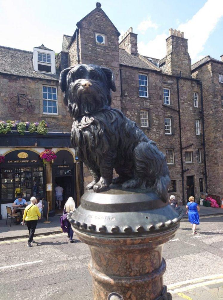Greyfriars Bobby statue, Edinburgh