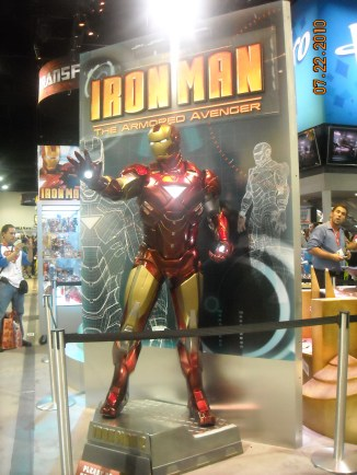 Iron Man floor display