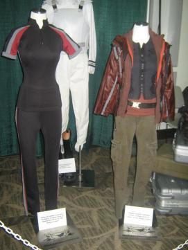 Hunger Games costume exhibit