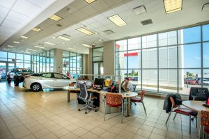 Ernst Auto Group Toyota Showroom