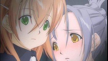 レズ純愛の女子校エロアニメ画像